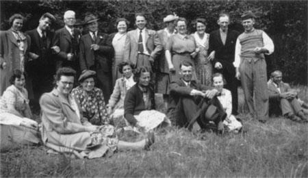 Sjællandske Folkekors stævne i Ringsted i 1937